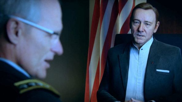 Call of Duty: Advanced Warfare's new trailer pits Frank Underwood against terrorists