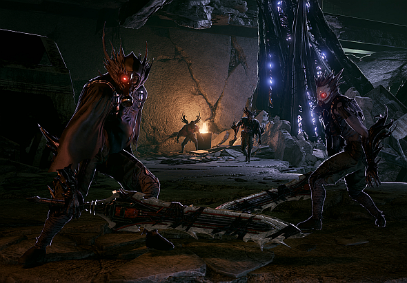 A few Lost - the blood-crazed Revenants you'll be fighting
