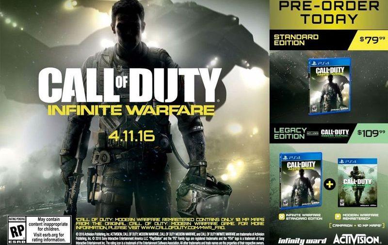 CoD Modern Warfare remaster poster