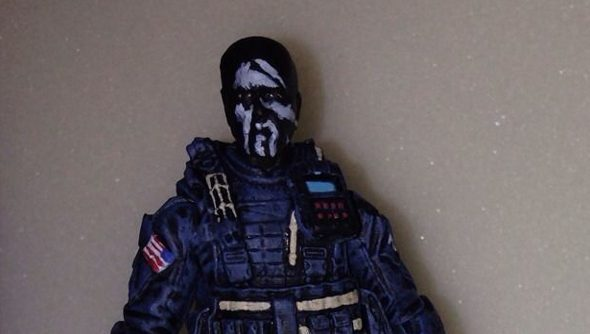 Call of Duty: Ghosts custom action figures sold on ebay