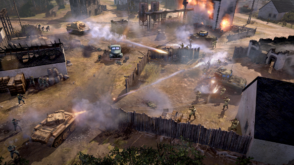 Company of Heroes 2: Western Front Armies returns to old haunts on June 24th