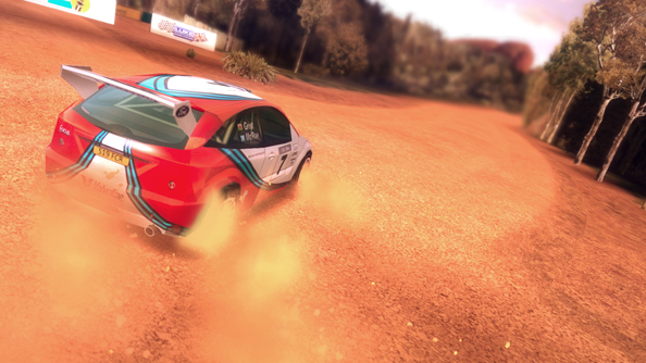 Colin McRae Rally: muddied.