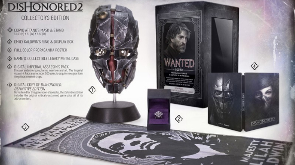 dishonored 2 preorder