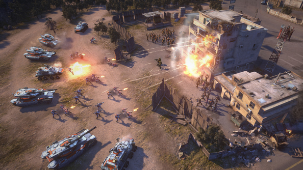 "Command & Conquer ""wasn't there yet"", but EA Victory's developer roadmap was ""much more promising"""