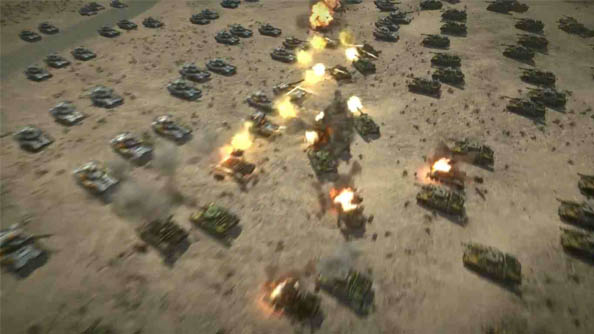 Command & Conquer will include units from the whole franchise