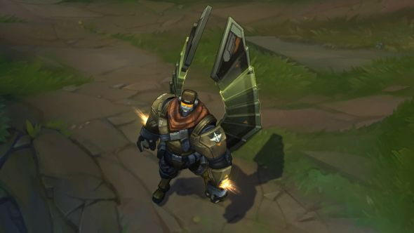 Commando Galio in-game