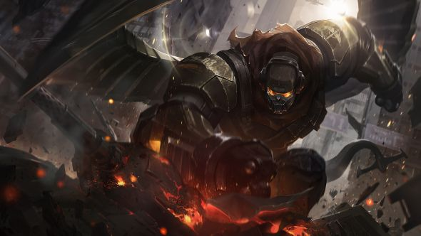 Commando Galio splash art