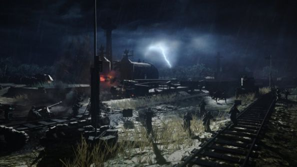 Worst Glasto ever: Company of Heroes Southern Fronts DLC swaps out snow for mud
