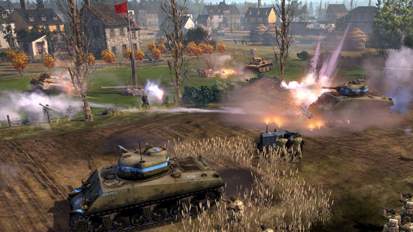 Company of Heroes 2: The Western Front Armies is out on Steam today
