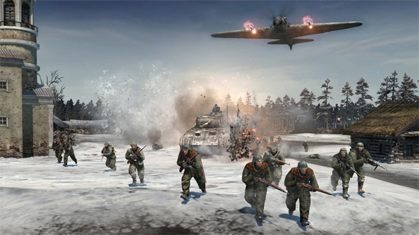 Company of Heroes 2 hands on: smoke gets in your eyes