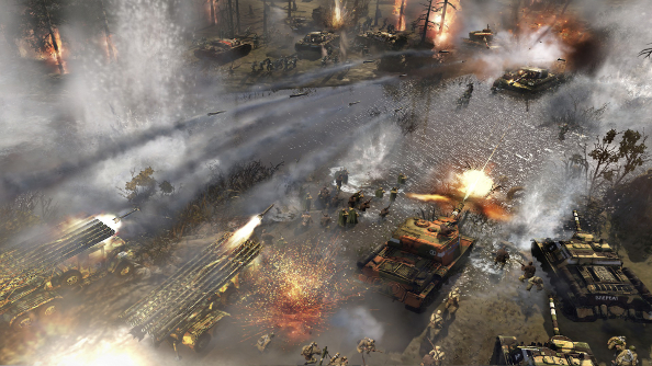Company of Heroes 2 is free for both the proletariat and bourgeoisie this weekend