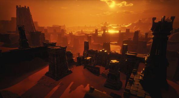 Ancient ruins in Conan Exiles