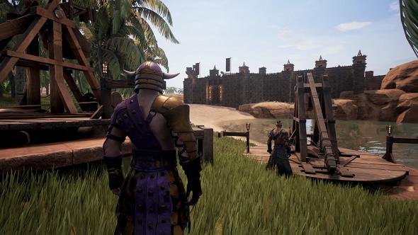 Conan Exiles siege gameplay