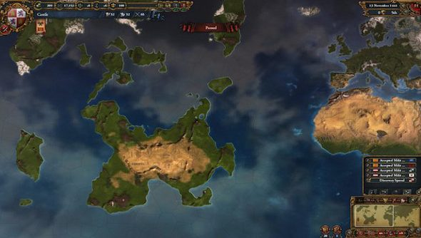 Europa Universalis IV: Conquest of Paradise out January 14