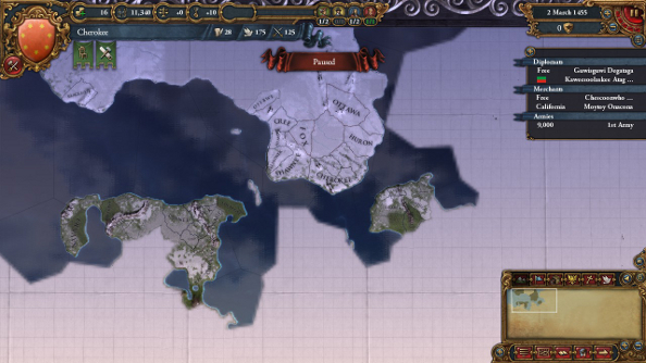Europa universalis iv conquest of paradise pc review pcgamesn and all this could take place on a map that looks like the cartographer designing it had a stroke the random new world feature creates a bizarre new gumiabroncs Image collections