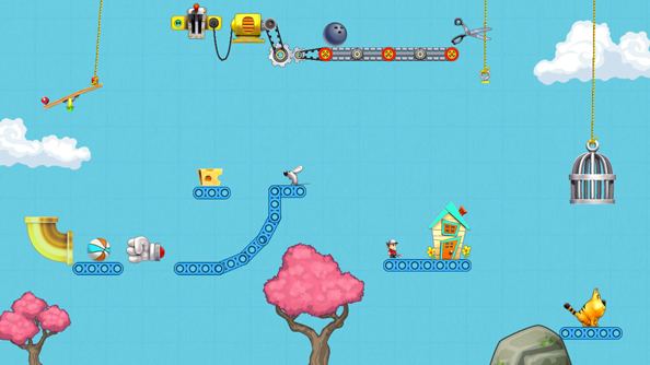 Contraption Maker is second-generation The Incredible Machine, out now on Steam
