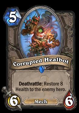 corrupted healbot