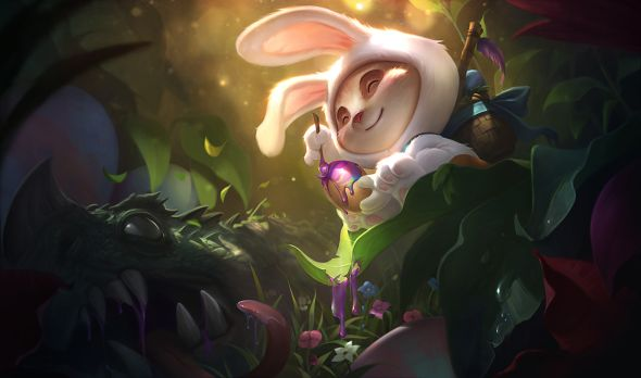 Cottontail Teemo splash art