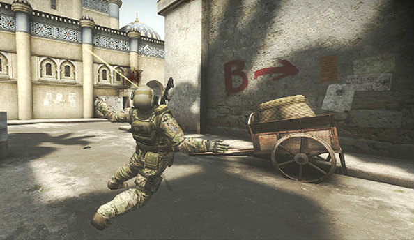 Counter-Strike: Global Offensive update enables headshots through arms