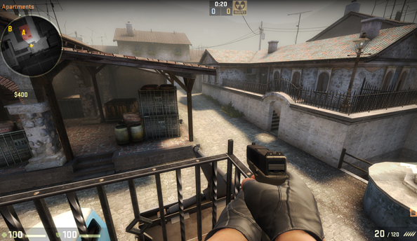 Counter-Strike: Global Offensive update clears up exactly what happens when you shoot somebody in the neck through their chest