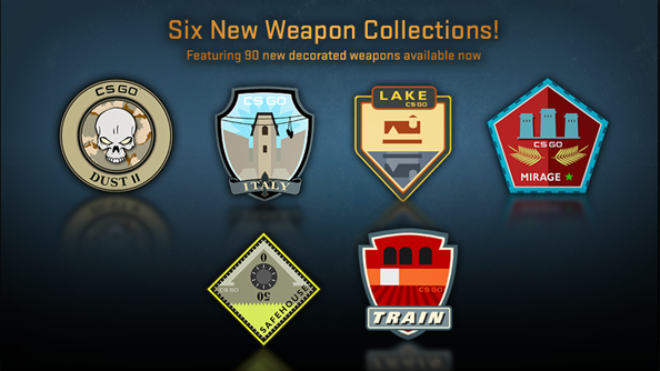 Counter-Strike: Global Offensive weapon drops replaced with 90 new ones