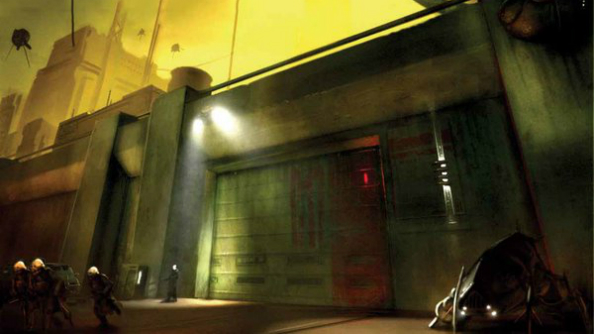 Unseen Half Life 2 Concept Art Makes Its Way Online Pcgamesn