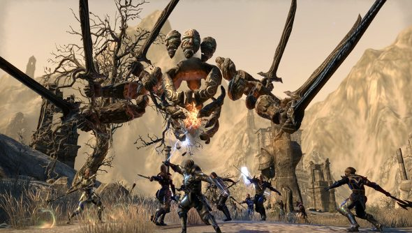 The Elder Scrolls Online Craglorn update