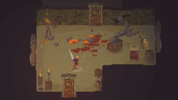 Crawl is a dungeon runner where your friends play the monsters