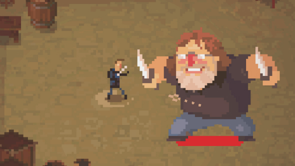 Face off against Gabe Newell in roguelike Crawl next month