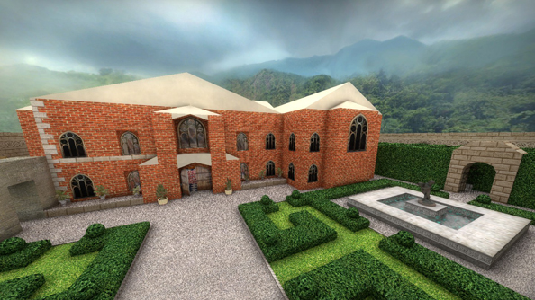 Counter-Strike: Global Offensive mapper rebuilds Tomb Raider's Croft Manor