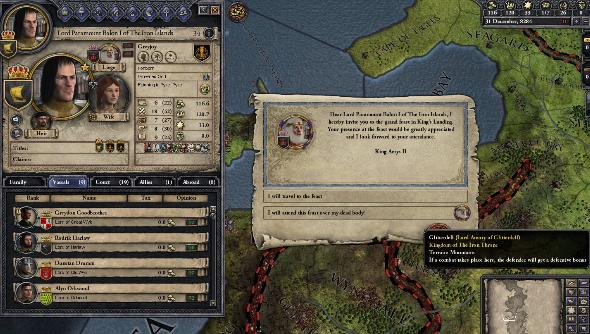 Crusader Kings 2 Game of Thrones mod Paradox