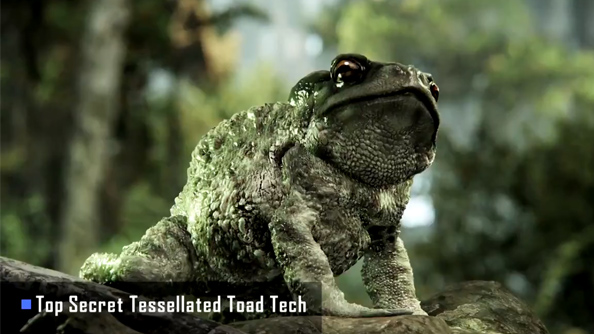 CryEngine 3 makes toads kissable