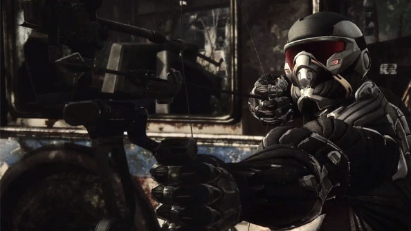 Crysis 3 footage shows Prophet killing people on a stroll in the park