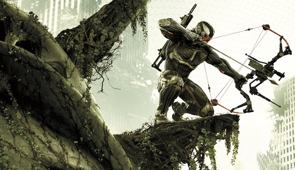 Crysis 3 trailer explains what that bow and arrow shtick is all about