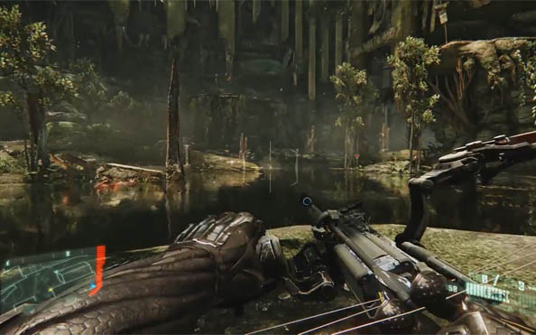 Crysis 3 interactive trailer lets you choose between stealth or armoured assault