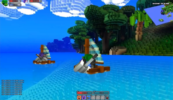 Watch this: five glorious minutes of Cube World - Minecraft crossed with Zelda