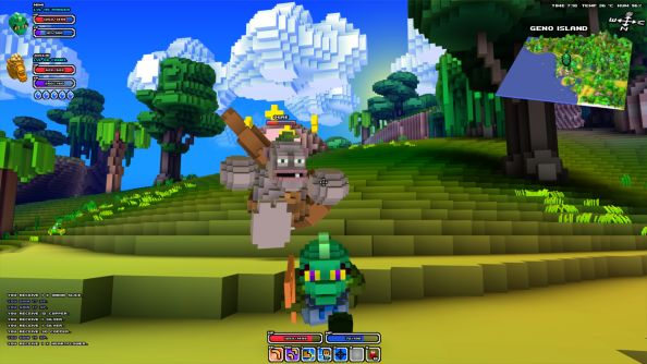 "Cube World isn't bust, but DDoS attacks were ""a very discouraging experience"""