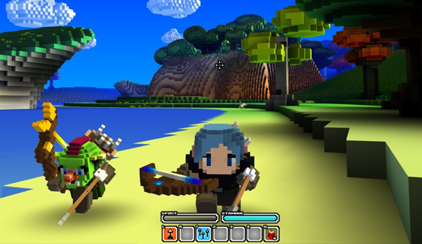 Cube World now has four classes to swap between in-game