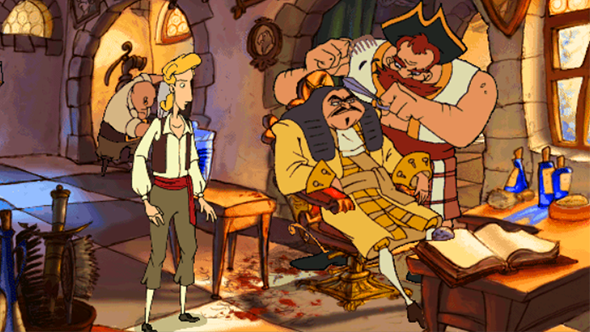 the curse of monkey island barber steam gog