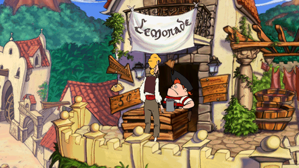 the curse of monkey island lemonade steam gog