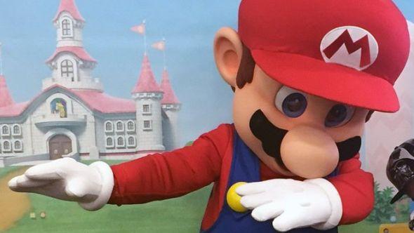 Dabbing Mario