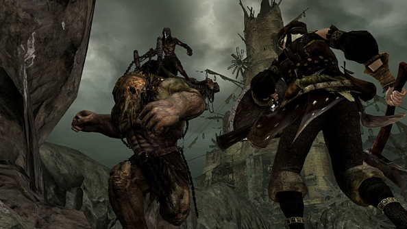Drangleic is filled with malformed, unexplained creatures. It is brilliant.