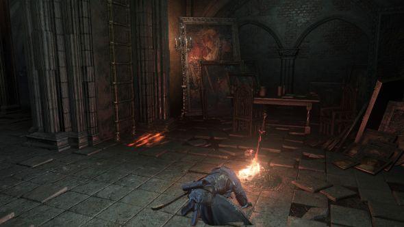 Dark Souls 3 bonfire