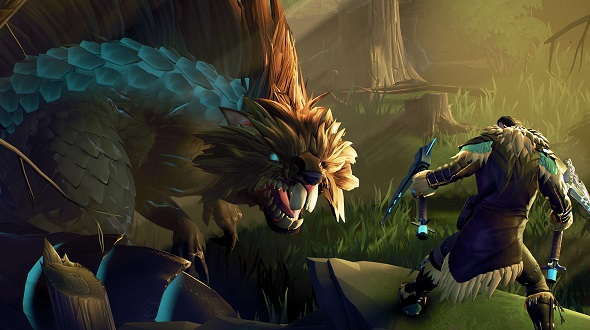 We're giving away 30 beta codes for Dauntless that also come with a custom PCGamesN flare!
