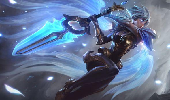 Dawnbringer Riven Splash Art