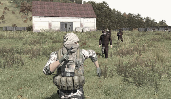 Shuffling along: Bohemia are developing a new pathfinding system for DayZ's zombies
