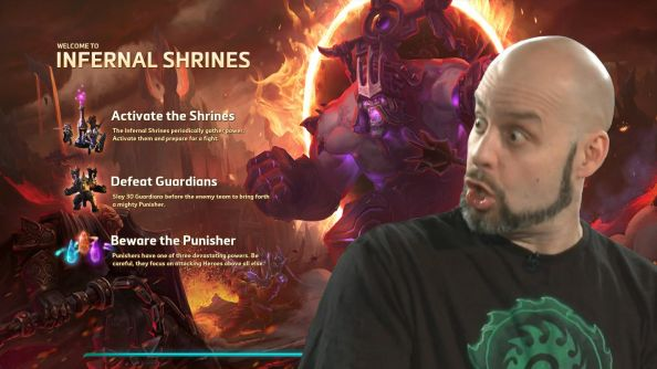 Heroes of the Storm's latest battleground, Infernal Shrines, goes live