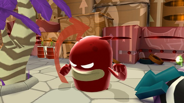 Paint the town red when de Blob makes its PC debut on April 27