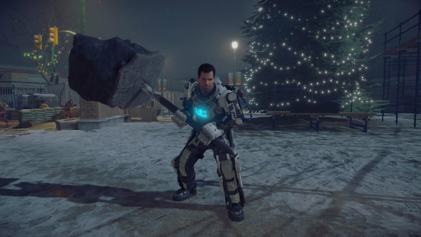 Dead Rising 4 says Christmas is definitely here with festive launch trailer
