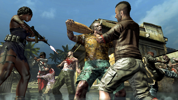Dead Island: Riptide is all about kicking zombies' heads off, probably